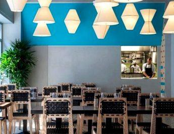 Vudafieri Saverino Partners Created Milan's Spica Restaurant Design