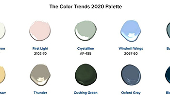Your design project needs benjamin moores color of the - Color of the year 2020 ...
