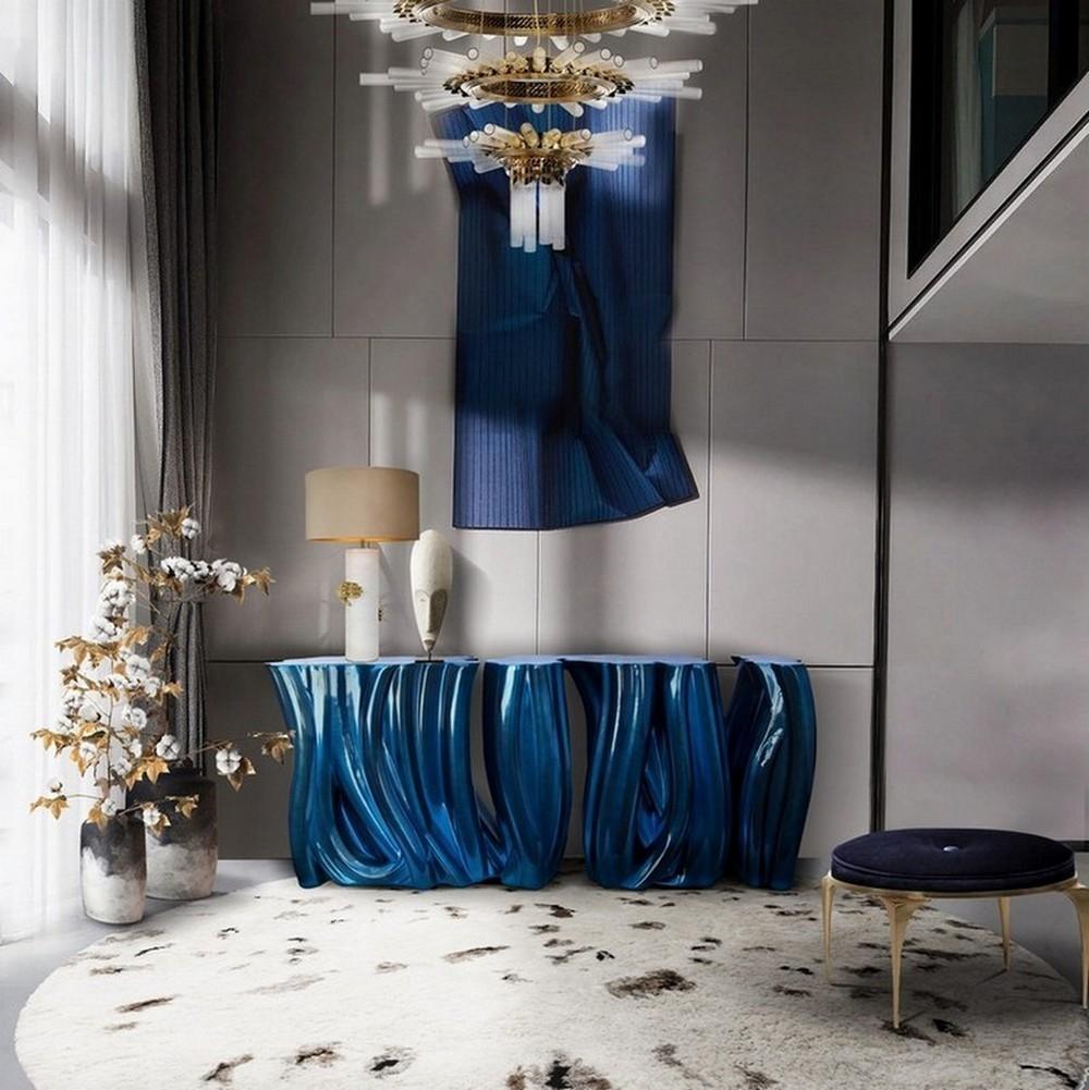 blue home decor