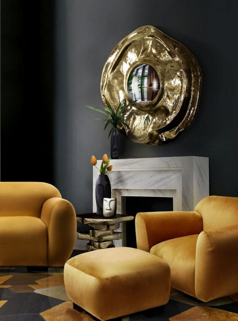 Brighten Your Home Decor With A Trendy Honey Yellow Detail!