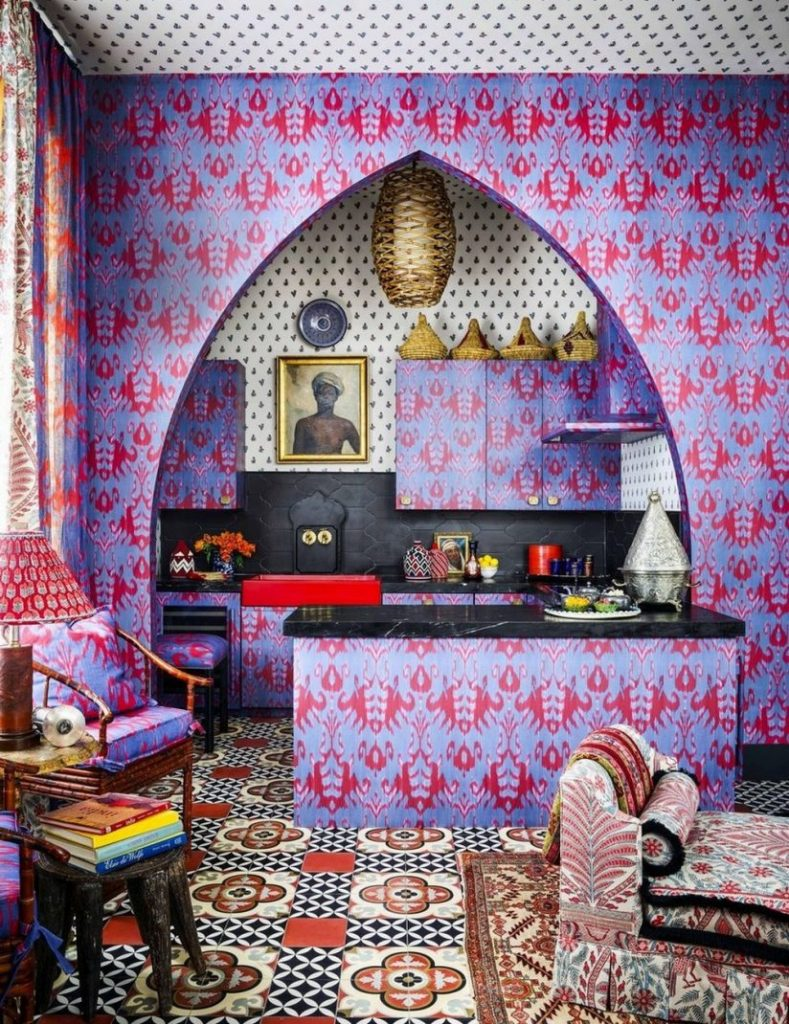 Michelle Nussbaumer Gives You The Ultimate Maximalist Kitchen Ideas