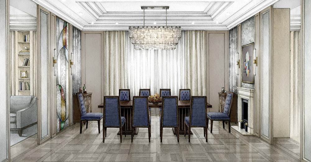 Polina Pidstan Knows How To Create The Perfect Private Interior Project