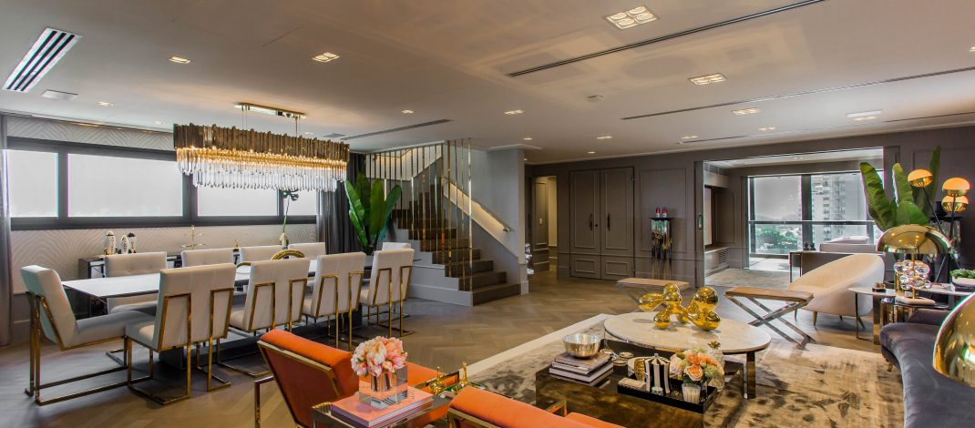 Luxury & Amazing Design Project by Electrix Design electrix design Luxury & Amazing Design Project by Electrix Design A One of A Kind S  o Paulo Penthouse by Electrix Design 1 1070x470
