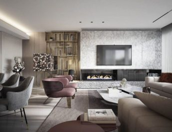 contemporary Amazing Contemporary Design Projects by Top Designers Inspiring Living Room Trends and Projects By Top Designers 8 345x265